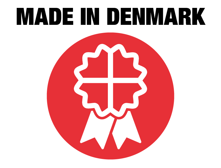Made in Denmark NASSAU garageport