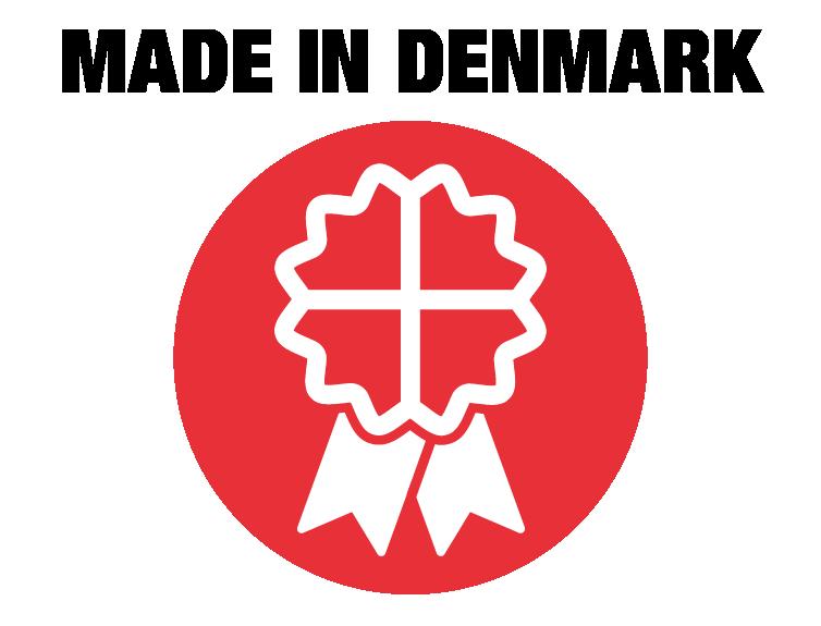 Made in Denmark NASSAU garageport Takskjutportar