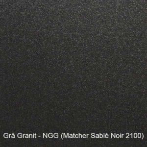 Grå-granit - garageport färgprov