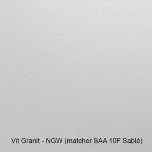 Vit-granit - garageport färgprover