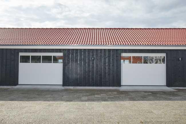 Inspiration - Garageport med fönster