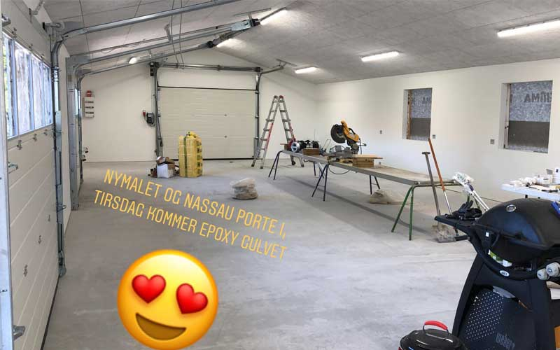 byggnation i garage