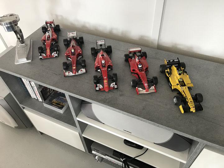 Formel 1 Expert Nicolas Kiesas - modellbilar