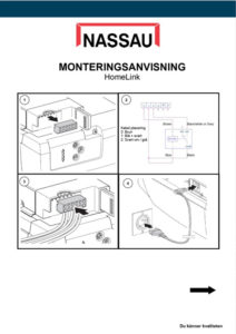 Monteringsanvisning-homelink
