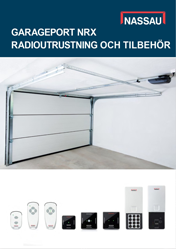NASSAU - Radioutrustning garageport