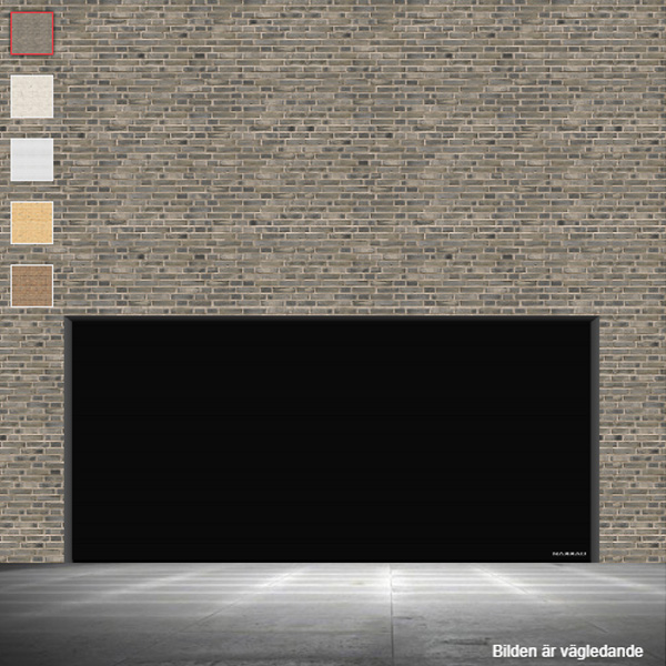 Softline granit svart 5000x2300